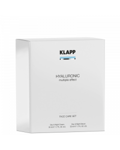 Hyaluronic multiple effect Set  - Day & Night Cream + Serum zum Vorteilspreis